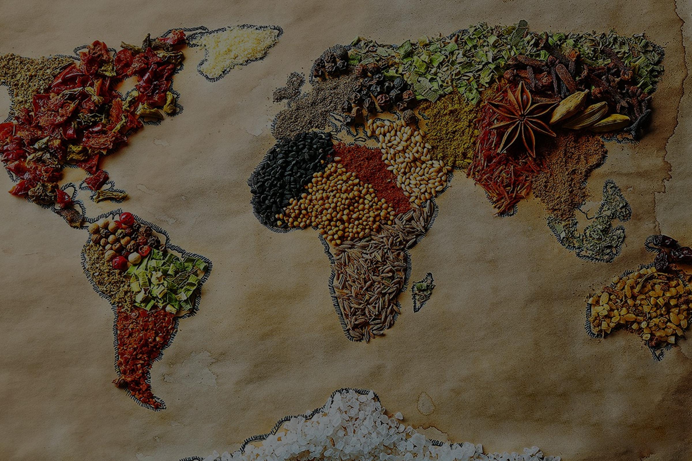 La cocina de los pueblos del mundo
